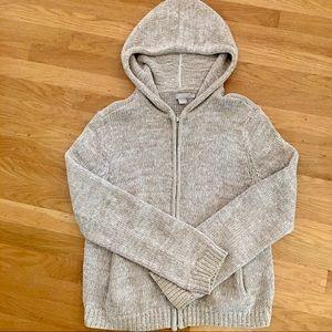J Crew Sweater Hoodie, Small